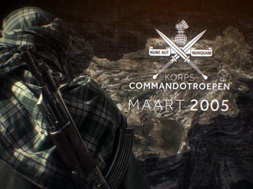 Inzet Korps Commandotroepen Afghanistan 2005-2010